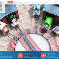 Główna strona, strony www Parku Miniatur i Kolejek w Dziwnowie
