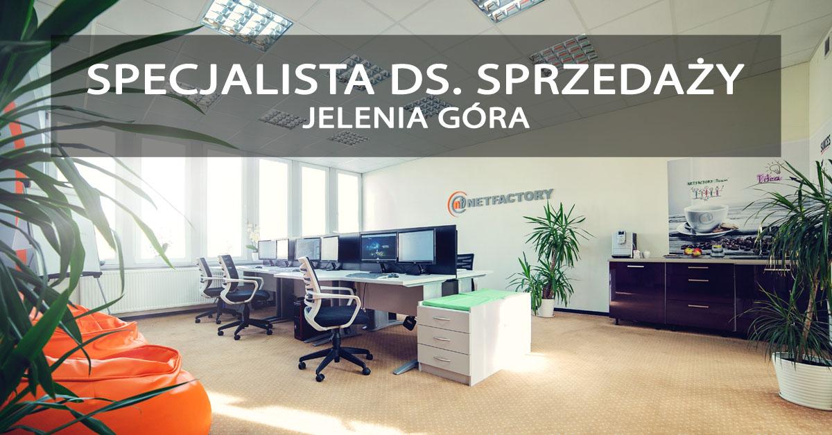 Specjalista ds. sprzedaży - Jelenia Góra