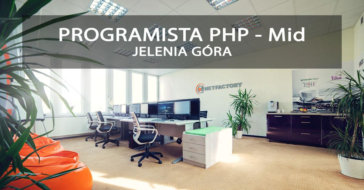 Mid PHP Developer Jelenia Góra